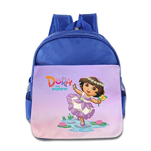 [Dora The Explorer3 Design Boy Girl Children School Bag Soft] (Boots And Swiper Costumes)