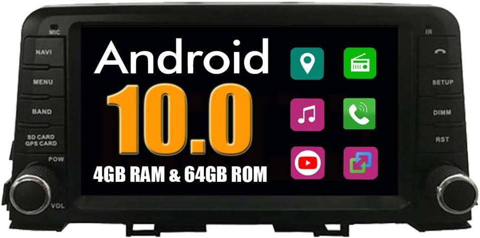 RoverOne Sistema Android Autoradio para Kia Picanto 2017 con Multimedia GPS Navegación Radio Bluetooth USB Mirror Link Estéreo: Amazon.es: Electrónica