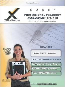 GACE Professional Pedagogy Assessment 171, 172 Teacher Certification Test Prep Study Guide (2008-05-01)