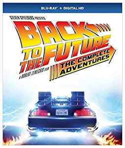 Cover Image for 'Back to the Future: The Complete Adventures (Blu-ray + Digital HD)'