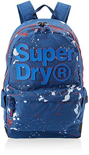 Cobalt Backpack Marl Blue 2 Montana Men's Tone Splatter Superdry Cq1axw