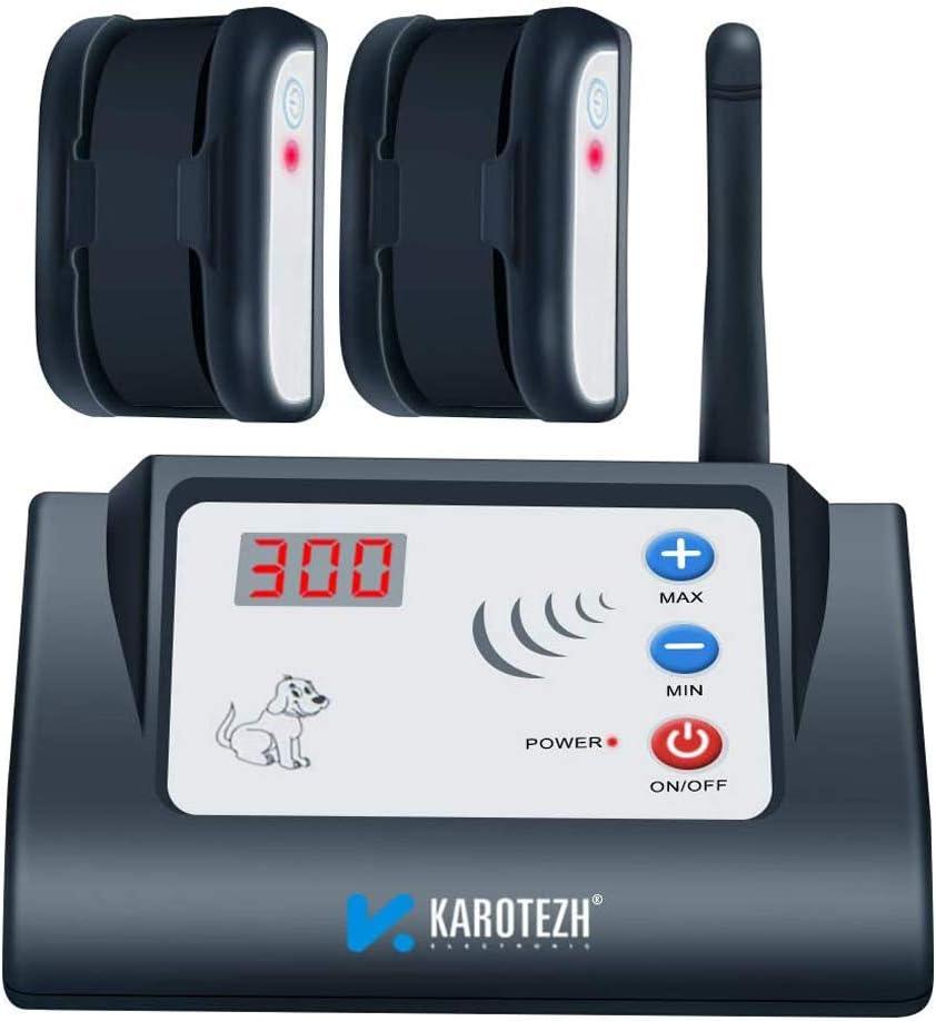 ghdonat.com KAROTEZH Wireless Dog Fence for Pet Waterproof ...