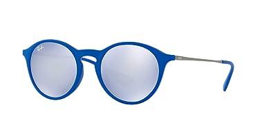 482ed97a47 Amazon.com  Ray-Ban Sunglasses Blue Grey Nylon - Non-Polarized ...