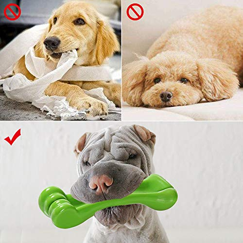 Lemcrvas Dog Chew Toys for Aggressive Chewers, Durable Interactive Dog Bone Toys for Large Medium Dogs