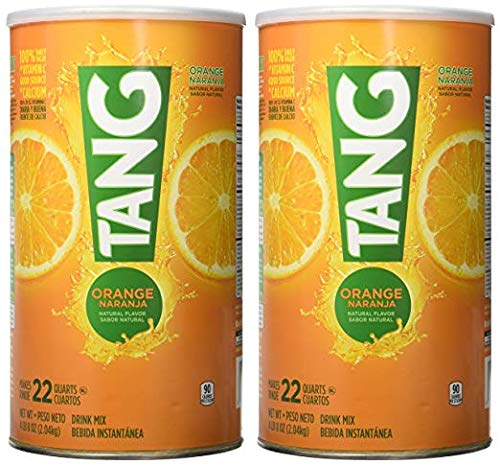 Amazon.com : Tang Orange Powdered Drink Mix (Makes 22 Quarts), 72-Ounce Canister (Pack of 2) by Tang [Foods] : Grocery & Gourmet Food