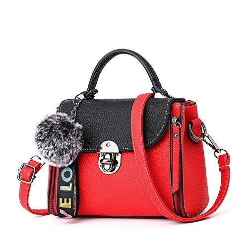 Shoulder à YUHEQI B Pu Bag Cross Sac Messenger Bandoulière Cuir Petit Femme HWX6W8a