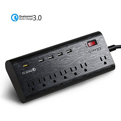 ereach-surge-protector-7-way-outlets-and-1-qc-30-usb-port-qualcomm-quick-charge-30-and-4-smart-usb-p
