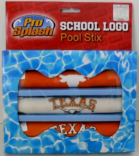 Licensed Products Co Texas Longhorns Swimming Pool Diving Sticks