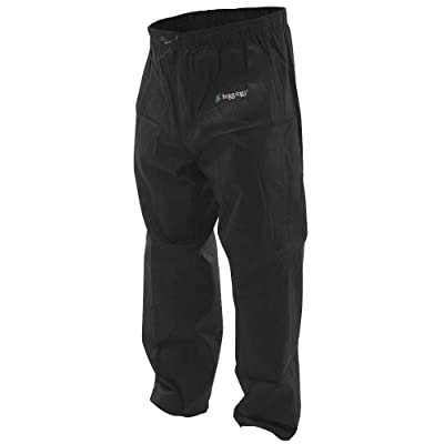 Frogg Toggs Pro Action Waterproof Rain Pant: Clothing [5Bkhe0112169]