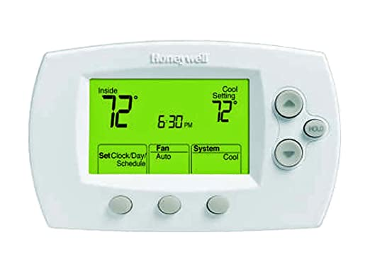 Honeywell TH6110D1005 FocusPRO 6000 - Termostato programable, color blanco: Amazon.es: Bricolaje y herramientas