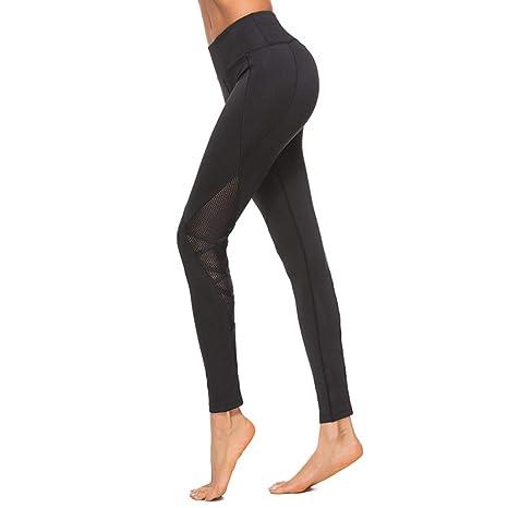 Pantalones De Malla De Yoga para Mujer Pantalones De Chándal ...