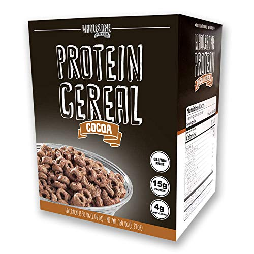 Protein Cereal, Low Carb Cereal, High Protein Cereal, 15g Protein, 4g Net Carbs, High Performance Cereal, 5 Individual Macro-Controlled Packages ()