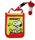 Red and Yellow Snoopy Card Wallet and ID Holder