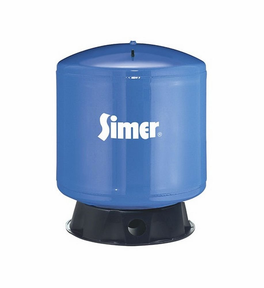 Pentair Water-Flotec-Simer VT52 50 Gallon Vertical Pre-Charged Bladder Tank, Blue