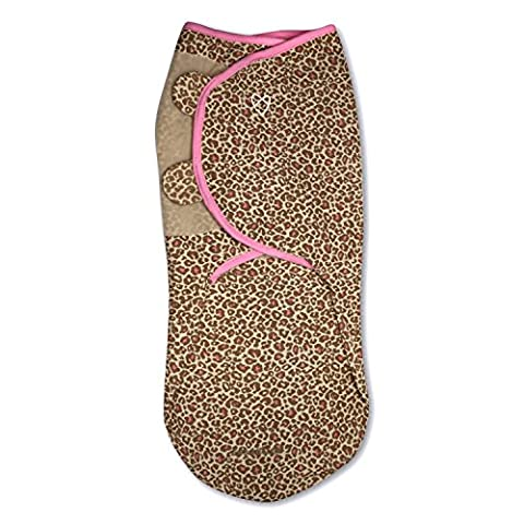 SwaddleMe Original Swaddle 1-PK, Cheetah (SM) (Animal Baby Blankets For Girls)