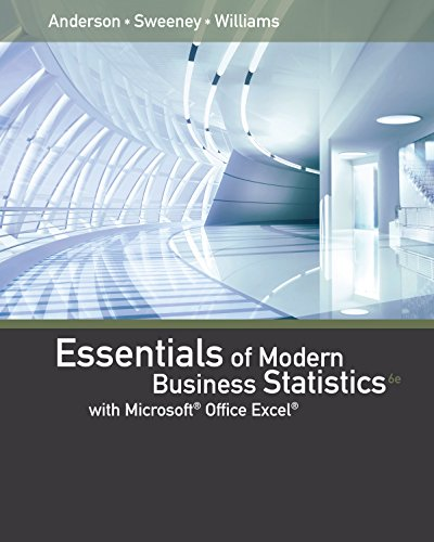 Download Essentials of Modern Business Statistics with Microsoft Excel Pdf
