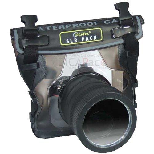 DiCAPac Waterproof Case for Nikon D40, D60, D90, D3000, D300S, D5000, Underwater Hous.