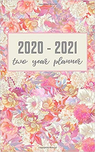 2020-2021 2 Year Pocket Planner//Calendar Flowers