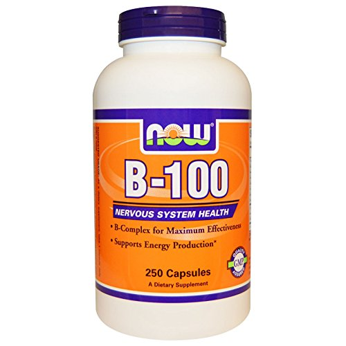 Now Foods B-100, 250 caps (Pack of 2) by NOW Foods