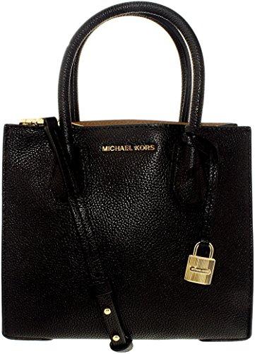 Damen Leder By Kors 30F6GM9M2L001 Michael Handtaschen Schwarz Michael Stwftqg