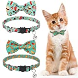KOOLTAIL Cat Collars Breakaway with Bells - 2 Pack