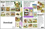 ScrapSMART - Easter Chicks Collection Software - Jpeg & PDF Files for Mac [Download]