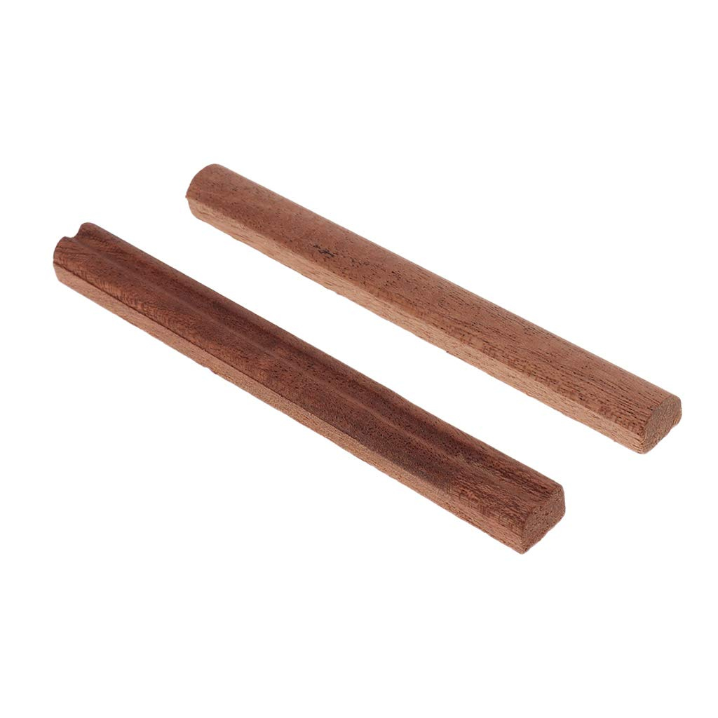 Baoblaze 2pcs Kalimba Thumb Piano Wooden Bridge for 17 Keys Kalimba Thumb Piano Finger Percussion DIY Material