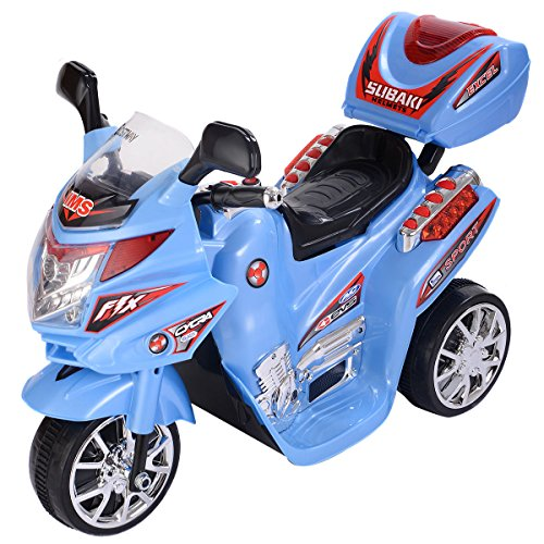 Costzon 3 Wheel Kids Ride On Motorcycle 6V Battery Powered Electric Toy Power Bicycle New
