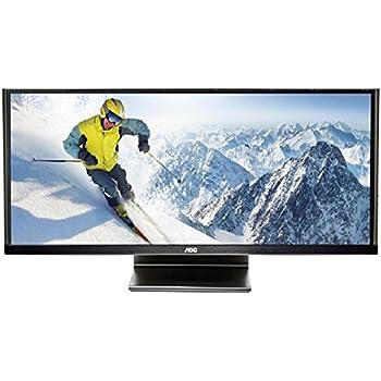 AOC Q2963PM 29-inch IPS (21:9) LED-Lit Monitor, 2560 x 1080 Resolution, 5ms, 50M:1 DCR, VGA / DVI / HDMI (MHL) / Display Port, Speakers, VESA