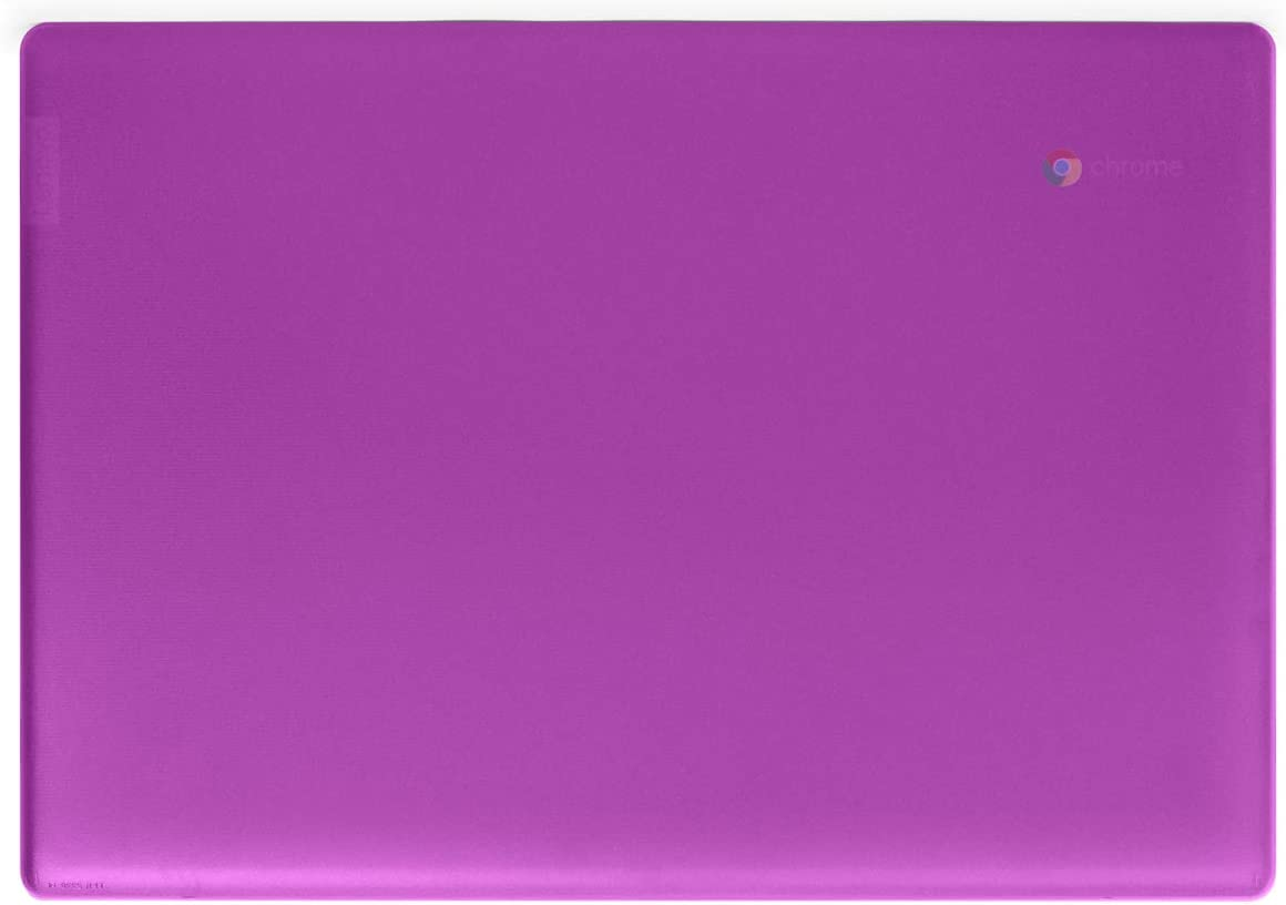 "mCover Hard Shell Case for Late-2019 14"" Lenovo S340 Series Chromebook Laptop (NOT Fitting Older 14"" Lenovo N42 / S330 and 11.6"" N22 / N23 / 100E / 300E / 500E, etc) (Purple)"