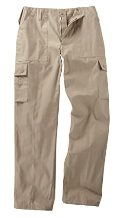 3c38c1508 Youths/Kids Military Combat Cargo Trousers - Beige (3-4 Years, Beige