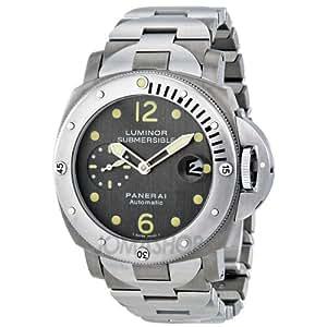 Panerai Luminor Submersible Automatic Titanium Mens Watch 00106