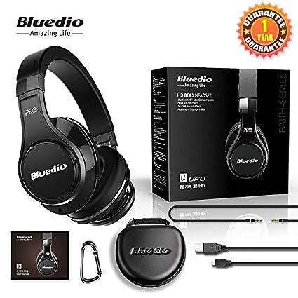 Bluedio (UFO) Faith Series High-End Auriculares Bluetooth Auriculares Bluetooth Revolution Patented 8