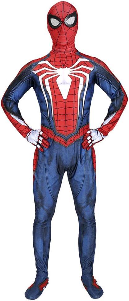 QQWE Traje Disfraces Spiderman Juego PS4 Traje Cosplay Spider-Man ...