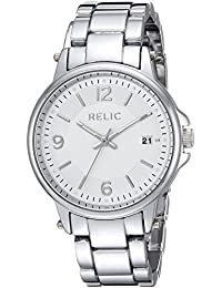 Women's Quartz Stainless Steel and Alloy Casual Watch, Color:Silver-Toned (Model: ZR34425)