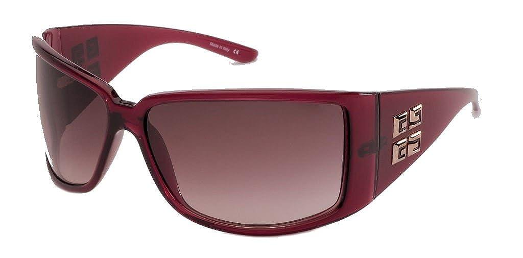 Givenchy Mujer - Gafas de sol SGV 662 09hg Borgoña: Amazon ...
