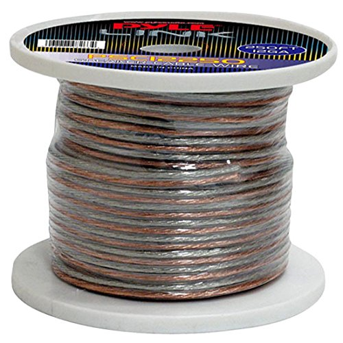 Pyle PSC12250 12-Gauge 250 feet Spool of Speaker Zip Wire