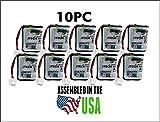 10PC 232020 JTech Battery , Restaurant Pager 2.4 v Battery