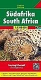 Südafrika, Autokarte Maßstab 1:1.500.000, freytag & berndt Auto + Freizeitkarten