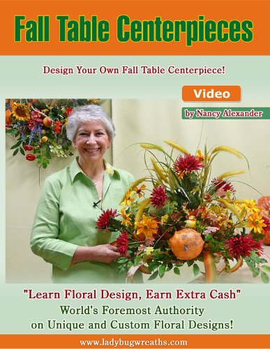 DIY, Fall Crafts, Thanksgiving Centerpiece, Craft Your Own Table Decorations for Thanksgiving, DVD -