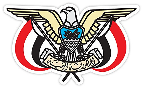 Yemen Coat (Yemen coat of arms sticker decal 5