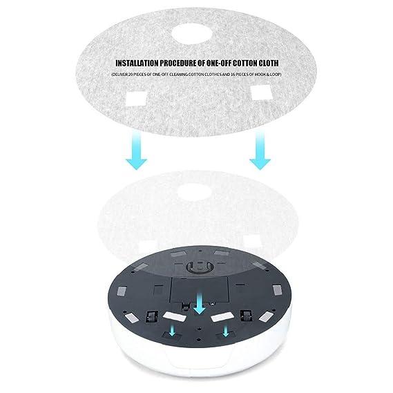 Haludock Smart Household - Limpiador Inteligente para Robots Blanco ...