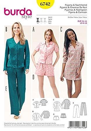 Burda Damen Schnittmuster (Tops, Hosen, Shorts & Kleid + GRATIS ...