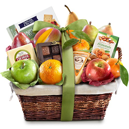 The Classic Deluxe Fruit Basket (Arrangment Fruit)