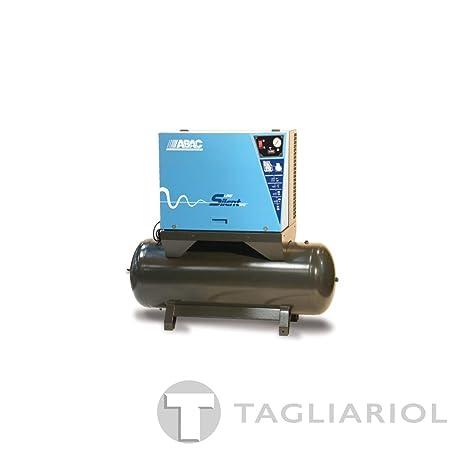 Abac b5900LN 2705,5Compresor Full Silent sobre depósito 270L-Motor Trifásico a correa bistadio