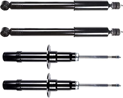 Front Gas Struts Shock Absorbers Fit for 2005 2006 2007 2008 2009 2010 2011 Chrysler 300,2006 2007 2008 2009 2010 Dodge Charger,2005 2006 2007 2008 Dodge Magnum 341608 72248 Set of 2 SCITOO Shocks