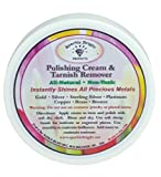 Sparkle Bright All-Natural Jewelry Cleaner – Tarnish Remover and Polishing Cream, 2 oz. | Gold, Silver Jewelry Cleaning