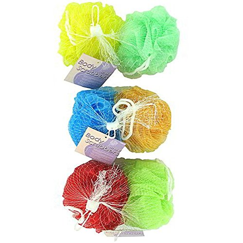 Mesh body scrubbers - Case of 144 by Bath & Body Works