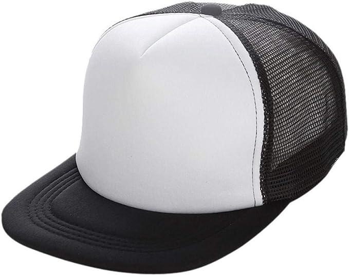 Gorra para Mujer Gorro De Béisbol Moda Malla para Hombre Sombrero ...