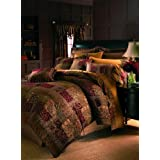 Croscill Galleria Comforter Set, Queen, Red
